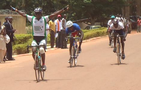 Trois ivoiriens en tête de la course
