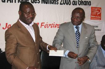 CAN 2008/ Partenariat : Pétro Ivoire offre 6 millions à l'AJS-CI