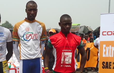 L'ivoirien Cissé Issiaka, grand vainqueur du Tour