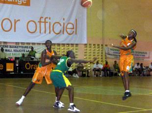 La Côte d'ivoire surclasse la Guinée 59 à 33 et prend la deuxième place