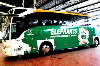 Football/CAN 2008 : Les Eléphants ont leur car