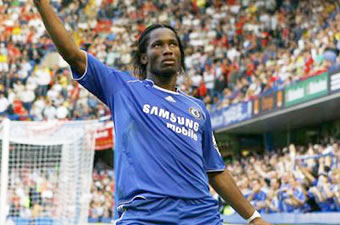 Football/ Chelsea FC : The Drog is back