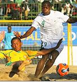 Eliminatoires Mondial Beach soccer 2007 : Les Eléphants en demi-finale