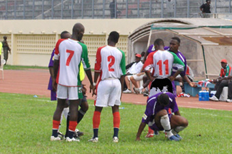 Football Match en retard de la 2ème journée de la ligue 1 : L`Africa sports et l`ES Bingerville s`imposent