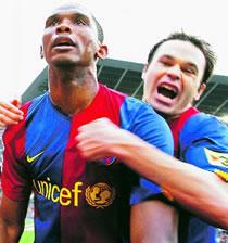 Football/ Cameroun : Le Barça ne veut pas voir Eto'o à la CAN 2008
