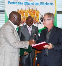 Football/ Partenariat : La FIF et Bolloré, renouvellent le bail