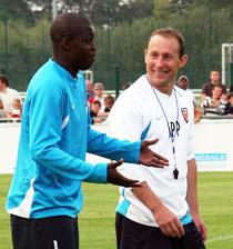 Football/ RC Lens: Akalé heureux dans le nord