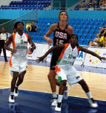 Basket/ CAN Dames Sénégal 2007  : La Côte d'Ivoire ouvre le bal