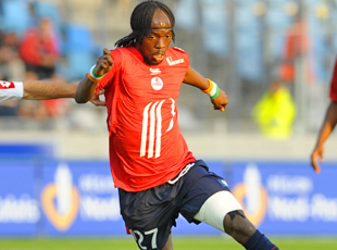 Gervinho en course