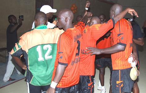 La Côte d'Ivoire (H), défaite pour la 3è fois