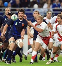 Rugby/ Mondial France 2007: Le XV de France tombe