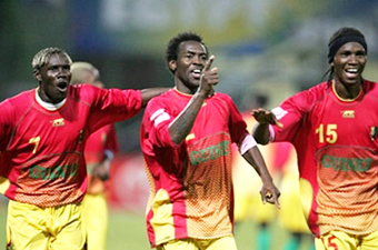 Football/ CAN 2008 : Le Syli met la pression sur les Blacks Stars