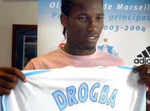 Les supporters de l'OM veulent Drogba