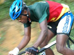 Les coureurs camerounais, à Abidjan