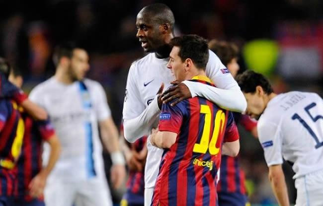 Yaya  veut Messi à City