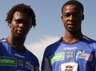 Kambou et Niangbo à Bastia