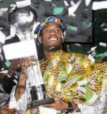 Football/ Ballon d'Or africain: Drogba trouvera successeur à Cotonou