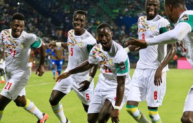 Carton plein pour le Sénégal