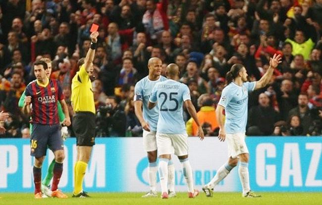 Manchester City, l'excuse de l'arbitrage