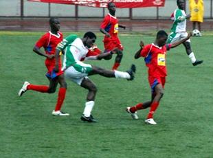 Le stade ne passe pas l'obstacle Oyé