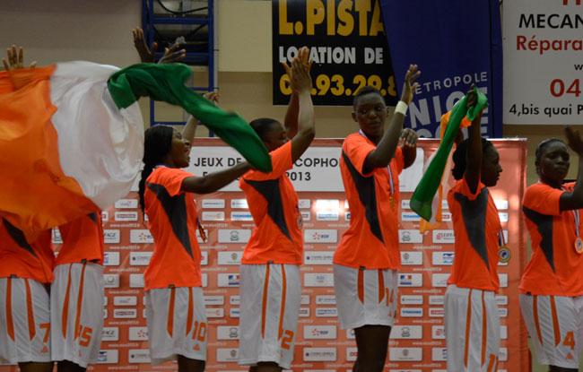 Les basketeuses ivoiriennes à Bamako