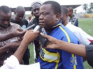 Ervé Siaba, président de l'Efym « Je n'ai encore rien décidé »