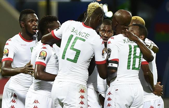 Le Burkina en quart