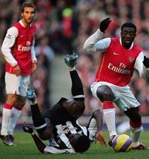 Football/UEFA Ligue des Champions : Victoire record pour Arsenal