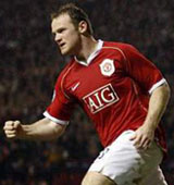 Football/ Demi-finale Ligue des Champions: Fighting Rooney
