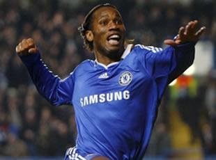 Chelsea, puissance Drogba