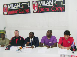 Le Milan Camp Junior, en Côte d'Ivoire