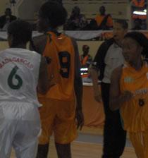 CAN FEMININE DE BASKET : 5è journée : La Côte d'Ivoire  en quart de finale