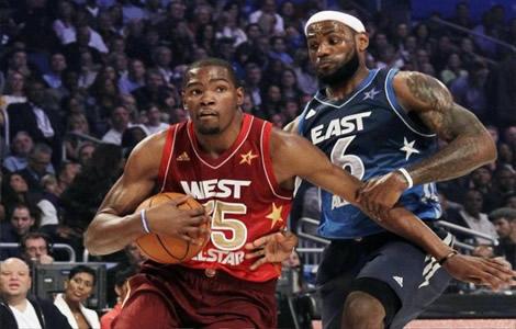 All Star Game: La victoire pour l'Ouest, Kevin Durant sacré MVP