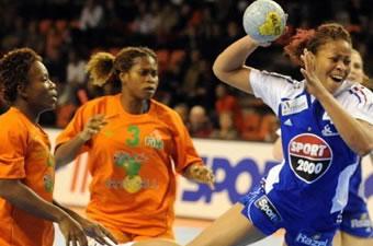 Handball Dames: Qualification JO 2008 : La Côte d'ivoire humiliée par la France 10 / 34