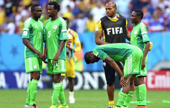 Le Nigéria est éliminé