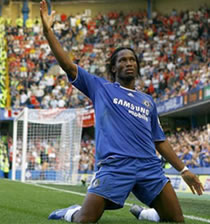 Football/Ligue des champions 5e j: Drogba qualifie Chelsea à Trondheim