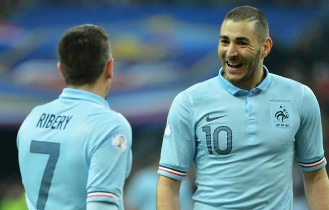 Benzema et Ribery  relaxés