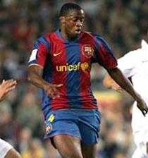 Football/ FC Barcelone: Yaya Touré absent un mois