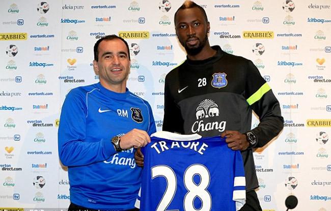 Everton, le choix de Lacina