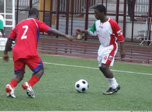L'Africa champion de la manche aller