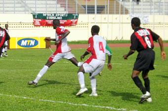 Football / Ligue 1, 4è journée, Africa-Issia (1-0): Et de quatre pour les Aiglons