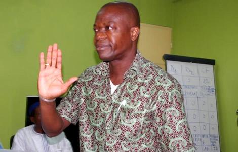 Joseph Ouéréga réélu président à l'unanimité