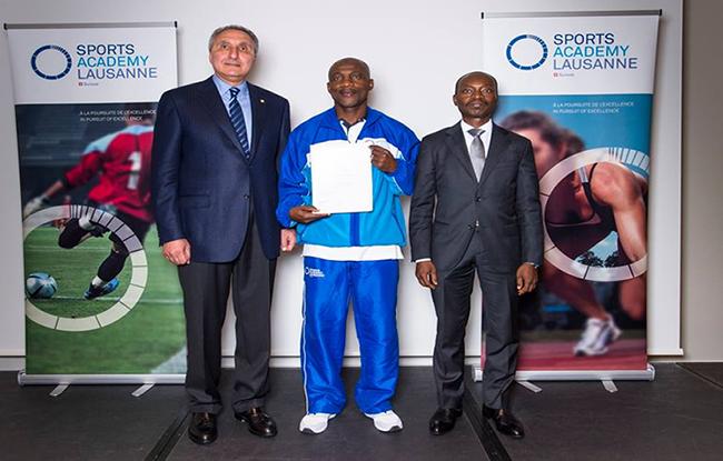 Sidibé Aziz  primé en suisse